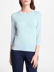 Bruce By Bruce Oldfield Sparkle Knit Crew Jumper Blue