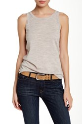 Inhabit Merino Wool Tank Gray