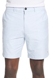 Farah Men's 'Bristow' Woven Cotton Shorts Bluebell