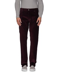 Ralph Lauren Black Label Trousers Casual Trousers Men Maroon