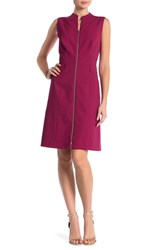 Lafayette 148 New York Carlina Sleeveless Dress Amaryllis