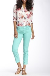 Level 99 Lilly Cropped Skinny Straight Leg Jean Blue