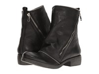 Massimo Matteo Low Boot With Zipper Black Women's Boots