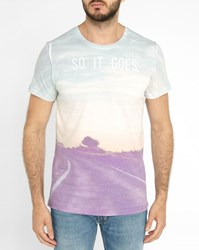 Minimum Multicoloured Elias Pr Print T Shirts
