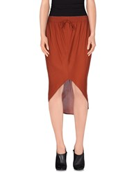 Aniye By Skirts Knee Length Skirts Women Cocoa
