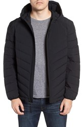 Marc New York Delavan Down Hooded Jacket Black