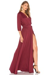 Rachel Pally Ingrid Dress Burgundy