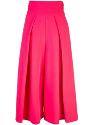 Milly Front Pleats Skirt Pink
