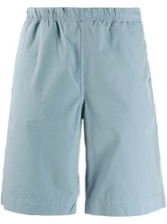 Paul Smith Ps Elasticated Bermuda Shorts Blue