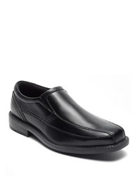 Rockport Style Leader 2 Leather Venetian Loafers Black