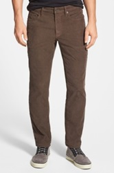 Bonobos Straight Leg Five Pocket Corduroy Pants Brown
