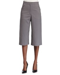 Zac Posen Cropped Culotte Pants Summer Storm