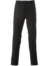 Al Duca D'aosta 1902 Slim Fit Tailored Trousers Brown