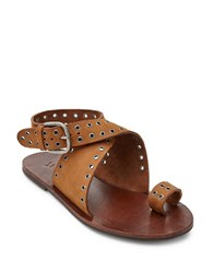 Matisse Starling Toe Ring Flat Sandals Tan