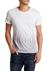 Rogue Cable Knit Graphic Tee White
