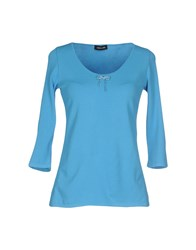 Anne Claire Anneclaire Topwear T Shirts Women Azure