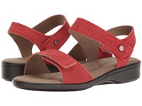Arcopedico Galapagos Red Women's Shoes