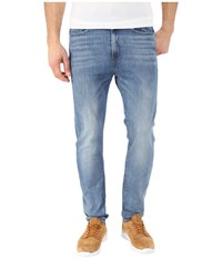 G Star Type C 3D Super Slim In Humber Stretch Denim Light Aged Humber Stretch Denim Light Aged Men's Jeans Blue