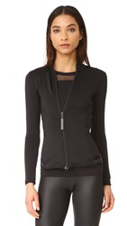 Adidas By Stella Mccartney Mid Layer Jacket Black
