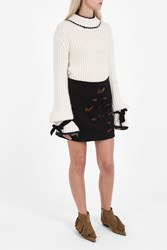 J.W.Anderson Bow Mini Skirt Black