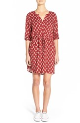 Women's Ace Delivery Print Henley Shirtdress