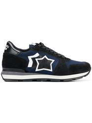 Atlantic Stars Star Lace Up Sneakers Blue