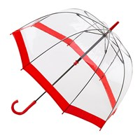 Fulton Birdcage Domed Umbrella Red