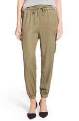 Women's Dex Drawstring Waist Tencel Cargo Pants