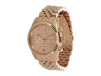 Michael Kors Mk5569 Vintage Classic Lexington Chronograph Rose Gold Chronograph Watches