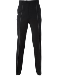 Maison Martin Margiela Stitch Detail Tailored Trousers Black
