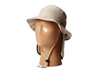 Stetson Boonie With No Fly Zone Insect Shield Fabric And Neck Flap Khaki Caps