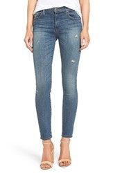 True Religion Women's Brand Jeans Halle Mid Rise Super Skinny Jeans