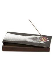 Fornasetti Pensee Incense Box Multicolour