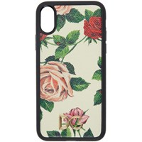 Dolce And Gabbana White Flowers Iphone X Case