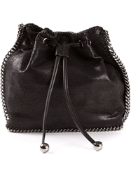 Stella Mccartney 'Falabella' Drawstring Tote Black