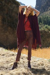 Free People Womens Studded Suede Skinny