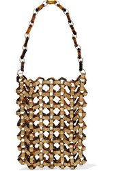 Cult Gaia Mia Gold Tone And Tortoiseshell Acrylic Tote One Size