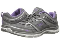 Ryka Shift Frost Grey Chrome Silver Purple Ice Women's Shoes Gray
