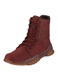 Timberland City Force Reveal Leather Boots Red