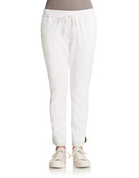 Joe's Jeans Slim Dance Jogger Pants Optic White