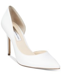 Inc International Concepts Women's Kenjay D'orsay Pumps Only At Macy's Women's Shoes Bright White