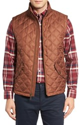 Brooks Brothers Men's Diamond Quilted Vest