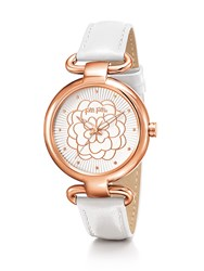 Folli Follie Santorini Flower Classy White Watch