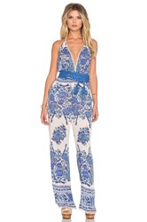 Spell And The Gypsy Collective Hotel Paradiso Jumpsuit Blue