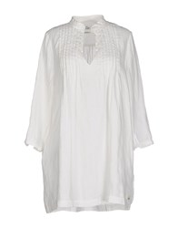 Replay Shirts Blouses Women White