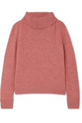 Brock Collection Cashmere Turtleneck Sweater Pink