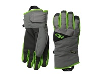 Outdoor Research Centurion Gloves Charcoal Flash Extreme Cold Weather Gloves Gray