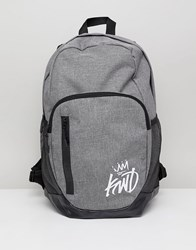 Kings Will Dream Grey Backpack With Logo