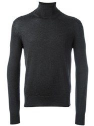 Cruciani Turtle Neck Jumper Grey