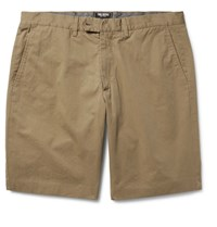 Todd Snyder Hudson Slim Fit Cotton Twill Chino Shorts Sand